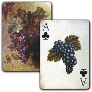 Botanical Grapes – Single Deck Playing Cards