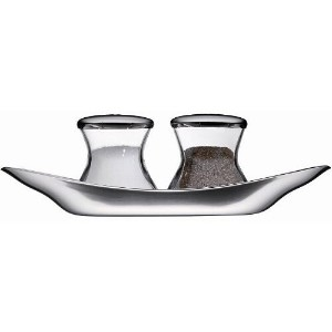 WMF Wagenfeld 3-Piece Salt and Pepper Shaker Set by WMF [並行輸入品]