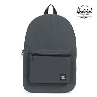 【HERSCHEL】PACKABLE TRAVEL DAYPACK カラー:black reflective 【ハーシェル】【スケートボード】【バッグ】
