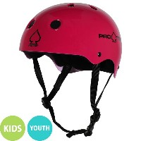 【PRO-TEC プロテック】CLASSIC SKATE GLOSS KIDS YOUTH PINKヘルメット グロスピンク 子供用 キッズ ユースサイズ 3~6歳 6~10歳 プロテクター...