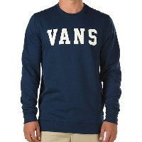 Vans Granby Crewneck Sweatshirt Dress Blues M
