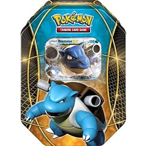 【2016 Pokemon Trading Cards Best of EX Tins featuring Blastoise Collector Tin】 b01nclwp15
