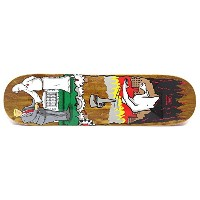 REAL DECK リアル デッキ JIM THIEBAUD WRENCH JUSTICE BROWN STAIN 8.25 スケートボード スケボー SKATEBOARD