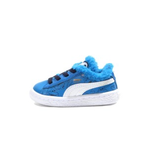 PUMA BASKET SESAME CM AC INF(361684-01)ELECTRIC BLUE LEMONADE BLACK【プーマ バスケット セサミ クッキーモンスター AC...