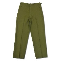 MILITARY(ミリタリー) DEAD STOCK(デッドストック) U.S.ARMY 1951 ARMY SERGE PANTS(1951年 ) OLIVE