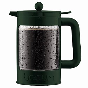 【Bodum Bean - Iced Coffee Maker Set with Locking Lid - 1.5l/51oz/12 Cup - Bottle Green】 b06y5kkgdj