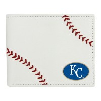 MLB Kansas City Royalsレザー財布、ホワイト、N / A
