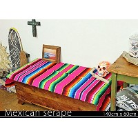 RUG&PIECE Mexican Serape made in mexcico ネイティブ メキシカン サラペ メキシコ製(rug-5891)
