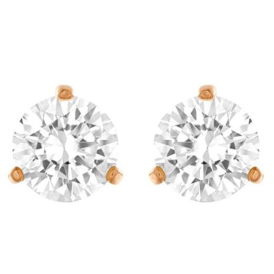 Jacob Time 5112156スワロフスキーSolitaire Pierced Earrings
