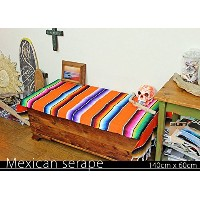 RUG&PIECE Mexican Serape made in mexcico ネイティブ メキシカン サラペ メキシコ製(rug-5880)