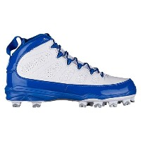 ナイキ ジョーダン メンズ 野球 シューズ・靴【Jordan Retro IX MCS】Game Royal/White/White/Metallic Silver