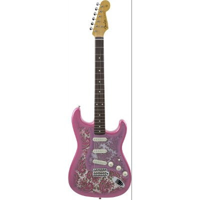 FenderMade in Japan Traditional '60s Stratocaster Pink Paisley【ペイズリー柄】【ストラトキャスター】【おちゃのみず楽器】...