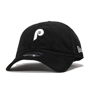 (ニューエラ) NEW ERA 9TWENTY MINI LOGO PHILADELPHIA PHILLIES BLACK CORDUROY [並行輸入品]