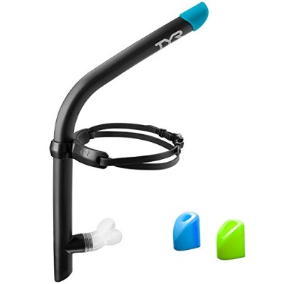 TYR(ティア) ULTRALIGHT SNORKEL 2.0 LSNRKL2 ブラック FREE