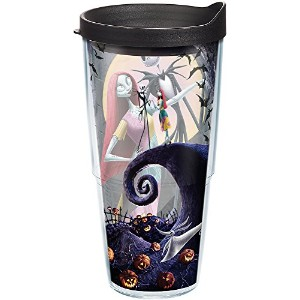 Tervis Disney The Nightmare Beforeクリスマスラップ24オンス