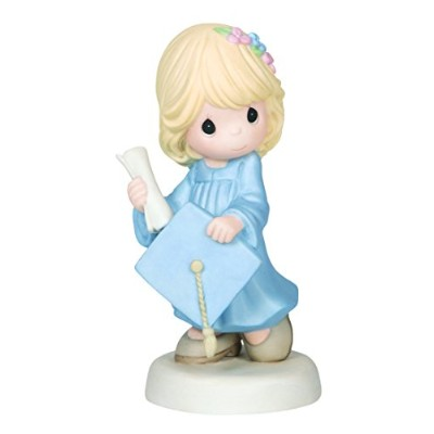 Precious Moments Graduation Girl Holding Diploma and Cap Figurine by Precious Moments [並行輸入品]
