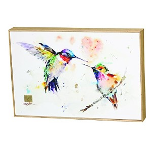 Demdaco Big Sky Carver The Lovebirdsハチドリ壁アート