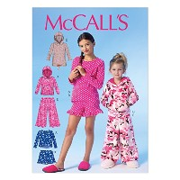 McCall Pattern Company M7041 Children's/Girl's Tops, Dress, Shorts and Pants Sewing Template, CCE ...