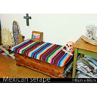 RUG&PIECE Mexican Serape made in mexcico ネイティブ メキシカン サラペ メキシコ製(rug-5892)