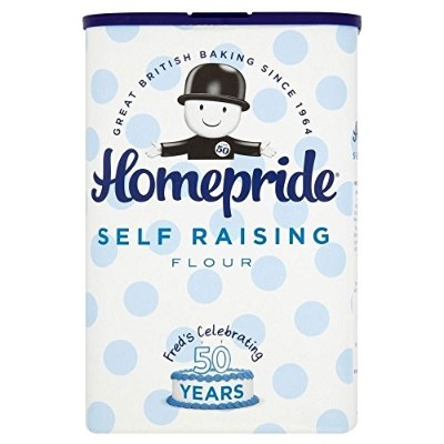 (Homepride) 自己調達小麦粉1キロ (x6) - Homepride Self Raising Flour 1kg (Pack of 6) [並行輸入品]