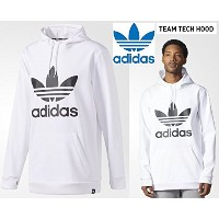 2018 ADIDAS アディダス SNOWBOARDING TEAM TECH HOOD XS WHITE