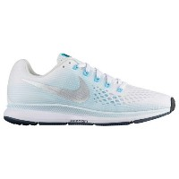 (取寄)Nike ナイキ レディース エア ズーム ペガサス 34 Nike Women's Air Zoom Pegasus 34 White Metallic Silver Glacier...