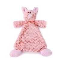 Nat and Jules Rattle Blankie, Pudder Pig by Nat and Jules