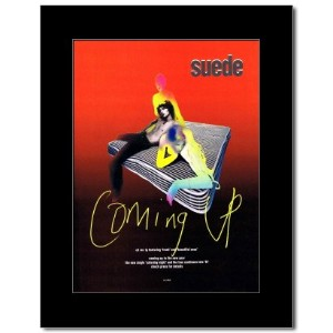 SUEDE - Coming Up Mini Poster - 28.5x21cm