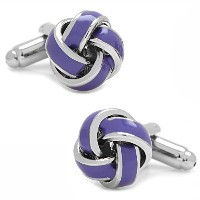 Ox and Bull Trading Co。ラベンダーKnot Cufflinks