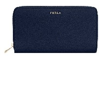 レディース FURLA BABYLON XL ZIP AROUND TRAVEL 財布  ダークブルー