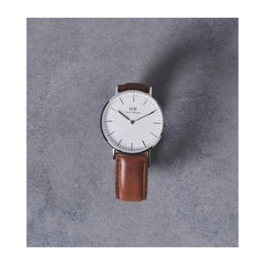 Daniel Wellington  CLASSIC ST ANDREWS (ST Mawes)36MM 腕時計【ユナイテッドアローズ/UNITED ARROWS レディス 腕時計 SILVER...
