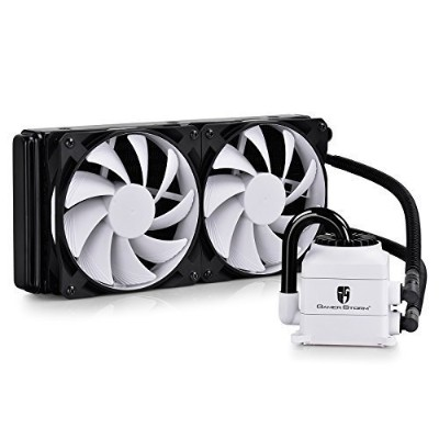 DeepCool CPU Liquid Cooler CAPTAIN 240 EX WHITE リキッドCPUクーラー [並行輸入品]