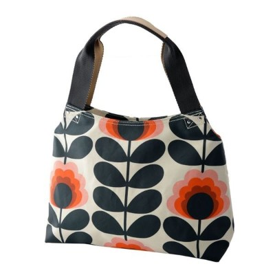 Orla Kiely (オーラカイリー) 17SESFS024 Sunset ショルダーバッグ SUMMER FROWER STEM Classic Zip Shoulder Bag【代引不可】