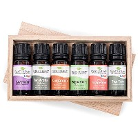 Essential oil sampler gift set in box (set #3). 6 Oils- Includes 100% Pure, Undiluted, Therapeutic...