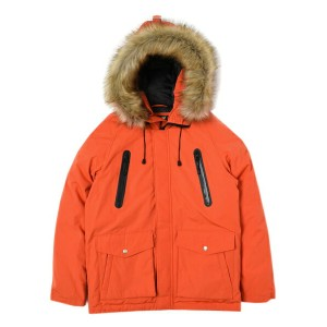 【送料無料】SCHOTT SNORKEL DOWN PARKA【3172024-044-ORANGE】