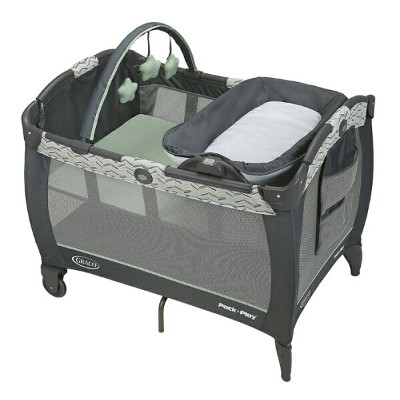グレコ Graco パックン プレイヤード Pack 'n Play Playard Reversible Napper & Changer LX Bassinet Landry ベビーベッド...
