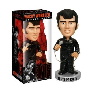 【ELVIS '68 Come Back Special Bobble Head】 ボビングヘッド 首振り人形 エルビス・プレスリー