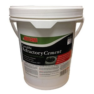 Rutland Castable Refractory Cement, 25-Pound by Rutland