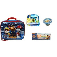 Paw Patrol 3d Insulatedランチバッグサンドイッチコンテナ& Mini SnackコンテナPlus Resealableバッグ