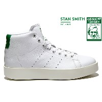 adidas Originals STAN SMITH BD MID W BY9663 RUNNING WHITE/RUNNING WHITE/GREENアディダス オリジナルス スタンスミス...