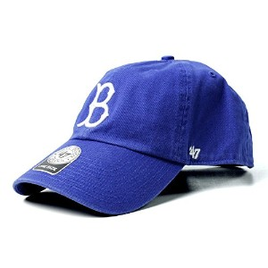 47 Brand カジュアルキャップ Dodgers Cooperstown Cleanup ドジャース クーパーズタウン Royal ロイヤル