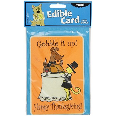 Crunchkins Edible Crunch Card, Gobble It Up Happy Thanksgiving by Crunchkins