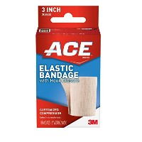 海外直送品Ace Ace Elastic Bandage With Hook Closure 3 Inches, 3 inches 1 each (Pack of 2)