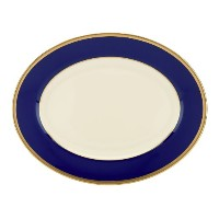 Lenox Independence 5-piece Place Setting Oval Platter ブルー 823148