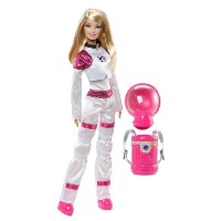 AwesomeバービーI Can Be。。。TM Career of the Year Space Explorer Doll