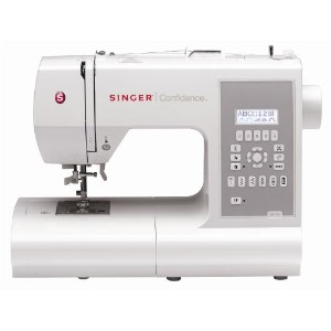 SINGER 7470 Confidence 225-Stitch Computerized Sewing Machine by Singer
