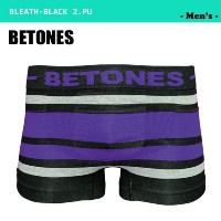 BETONES BETONES BREATH-BLACK BB-001-2 PURPLE