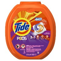 Tide PODS Spring Meadow HE Turbo Laundry Detergent Pacs 81-load Tub by Tide