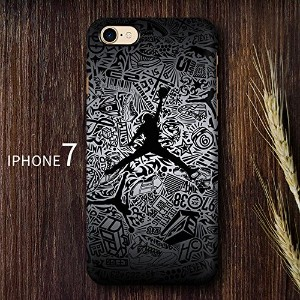 RONNEY'S AIR JORDAN BASKETBALL HEROS SOFT TPU Case for Apple iPhone 5/5S/5SE (JD 5)