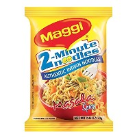 Maggi Masala 2-Minute Noodles India Snack - 5 Pack - 並行輸入品 -
